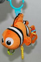 Finding Nemo Disney Baby Toy Crib Stroller Teether Rattle Crinkle Plush Fish  - $24.70