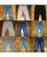 *build your own huge lot girl jeans pants GAP old navy children place 7 8 9 - $4.95+