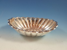 Holiday by Reed & Barton Scalloped Oval Silverplate Bowl  - $29.00