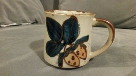 Otagiri Japan Hand Painted Coffee Mug Fruit Design Rare - $7.84