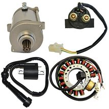 ZOOM ZOOM PARTS Starter Motor Ignition Coil Relay Stator for 1993 1994 1... - $79.95