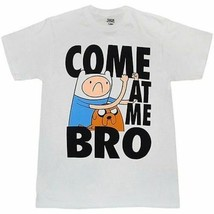 ADVENTURE TIME Mit Finn & Jake Venir At Me Brofist Cartoon Network T-Shi... - $17.61