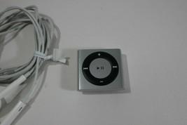 Apple iPod Shuffle 4th Gen Generation Grey A1373 2GB Silver w/ Clip 100%... - $94.95