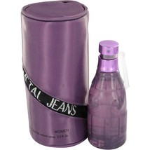 Versace Metal Jeans Perfume 2.5 Oz Eau De Toilette Spray image 1