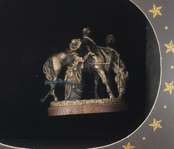 Olszewski Goebel Miniature Foundry Bronze American Frontier The First Ride 330-B - $55.95
