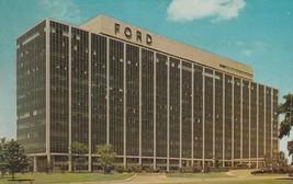 Vintage Postcard Ford Motor Company Detroit Michigan Mid Century Archite... - $6.92