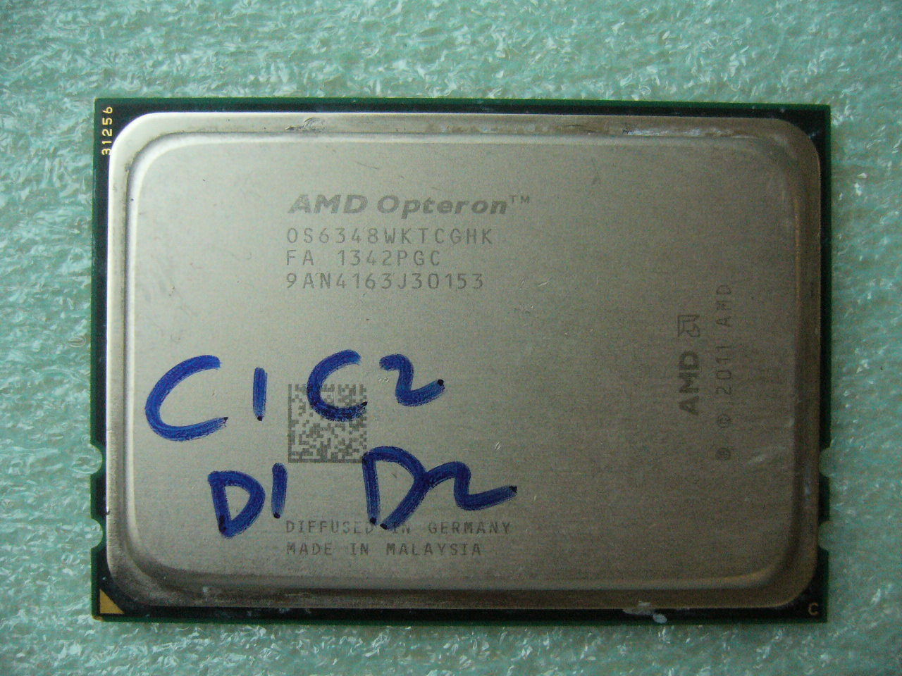 QTY 1x AMD Opteron 6348 2.8GHz Twelve Core OS6348WKTCGHK CPU Tested G34 Damaged - $104.00