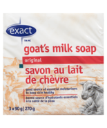Exact Goat's Milk Soap Original 12 bars Canadian  - $59.99