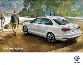 2013 Volkswagen JETTA HYBRID sales brochure catalog US 13 VW - $9.00