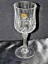 Longchamp Crystal Arques Glasses France 24 PBO Set of 3 LD19-11915 image 8