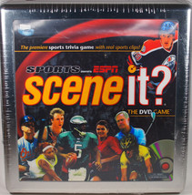Scene It? Sports Collector's Tin ESPN Edition DVD Trivia Game New In Tin New! - $11.29