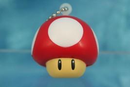 Bandai Super Mario Soft Figure Funyu Keychain P1 S Mushroom - $19.99