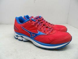 Mizuno Women's Wave Inspire 14 Running Shoes Paradise Pink/Blue Aster/White 7.5M - $56.99
