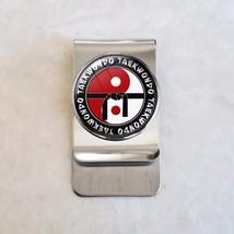 Taekwondo Martial Arts MMA Stainless Steel Money Clip - $20.00