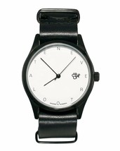 Cheapo CHPO cheapo Never Too Late Black Leather Strap 1422700 Analog Wrist Watch