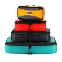 PRO Packing Cubes 4 Pc Lightweight Travel Cube Set Organizers and Compre... - $483,36 MXN