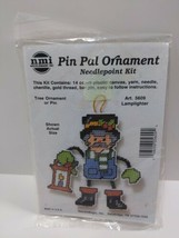 NMI Pin Pal Ornament Needlepoint Kit Christmas Lamplighter 5609 - $11.75