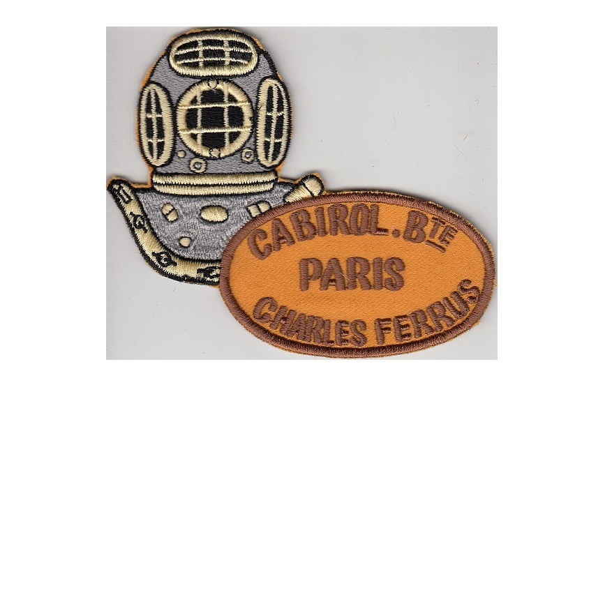 diving france specialit s m caniques r unis cabirol charles ferrus 12 bolts diving helmet paris