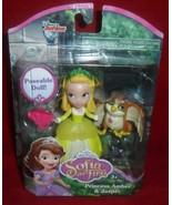 "Just Play ~ Disney's Princess Sofia, 3"" Poseable Doll ~ Amber & Jasper - $11.83"