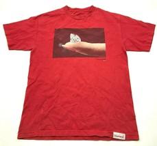 VINTAGE Diamond Supply Shirt Size Medium M Adult Red Black Graphic Tee A... - $17.83