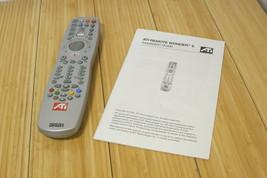 ATI Remote Wonder II Remote Control With Installation Guide - $13.99