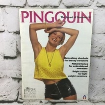 Vintage Pingouin The Heart Of Summer 1991 Knit Pattern Book Catalogue  - $9.89