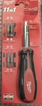Milwaukee - 48-22-2761 - 11-in-1 Multi-Tip Screwdriver with Square Drive Bits - $24.70