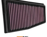 K&N Replacement Air Filter Fits Audi Rs5 V8-4.2L F-I; 2013-2015 (Left) 33-3031