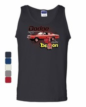 Dodge Demon Tank Top Route 66 American Made Classic Retro Cars Sleeveless - $12.50+