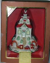 NIB LENOX 2008 Annual Holiday Ride Christmas Ornament Train Station Depo... - £35.77 GBP