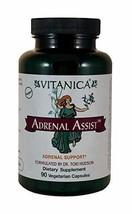 Vitanica - Adrenal Assist - Adrenal Support - 90 Vegetarian Capsules