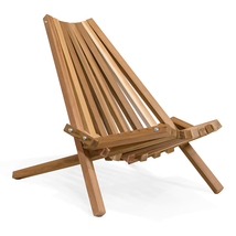 Canadian Western Red Cedar Portable Foldable Stick Chair Kit - $149.95
