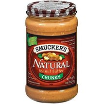 Smucker's Natural Chunky Peanut Butter, 26-ounc... - $15.25