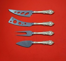 Sir Christopher by Wallace Sterling Silver Deluxe Charcuterie Set 4pc Cu... - $209.00