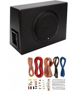 Rockford Fosgate P300-10 10-Inch 300W Single Powered Subwoofer With Enc... - $296.00