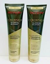 Revlon Colorsilk Glowing Blonde ColorStay Shampoo / Conditioner Set 8.45 oz - $18.95