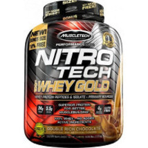 2 x  MuscleTech Performance Series Nitrotech Whey Gold Double Rich Choco... - $775.20