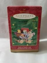 Noah's Ark Christmas Ornament Hallmark 2000 Xmas Tree Decoration Box Noahs EUC  - $14.27