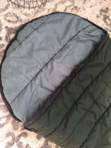 """SLUMBERJACK Sleeping Bag Rogue River Hollofil II Washable Dark Green 32"""" x 82""""  image 2"""