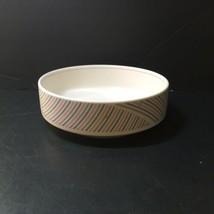 "Round Vegetable Serving Bowls Pinwheel Intaglio Mikasa 8.25"" Blue Pink Grey - $14.50"