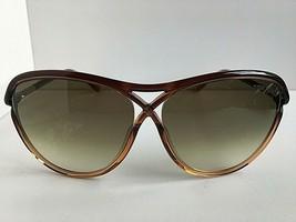 Tom Ford TTF 18350F Amber 59mm Sunglasses Italy T1 - $113.99