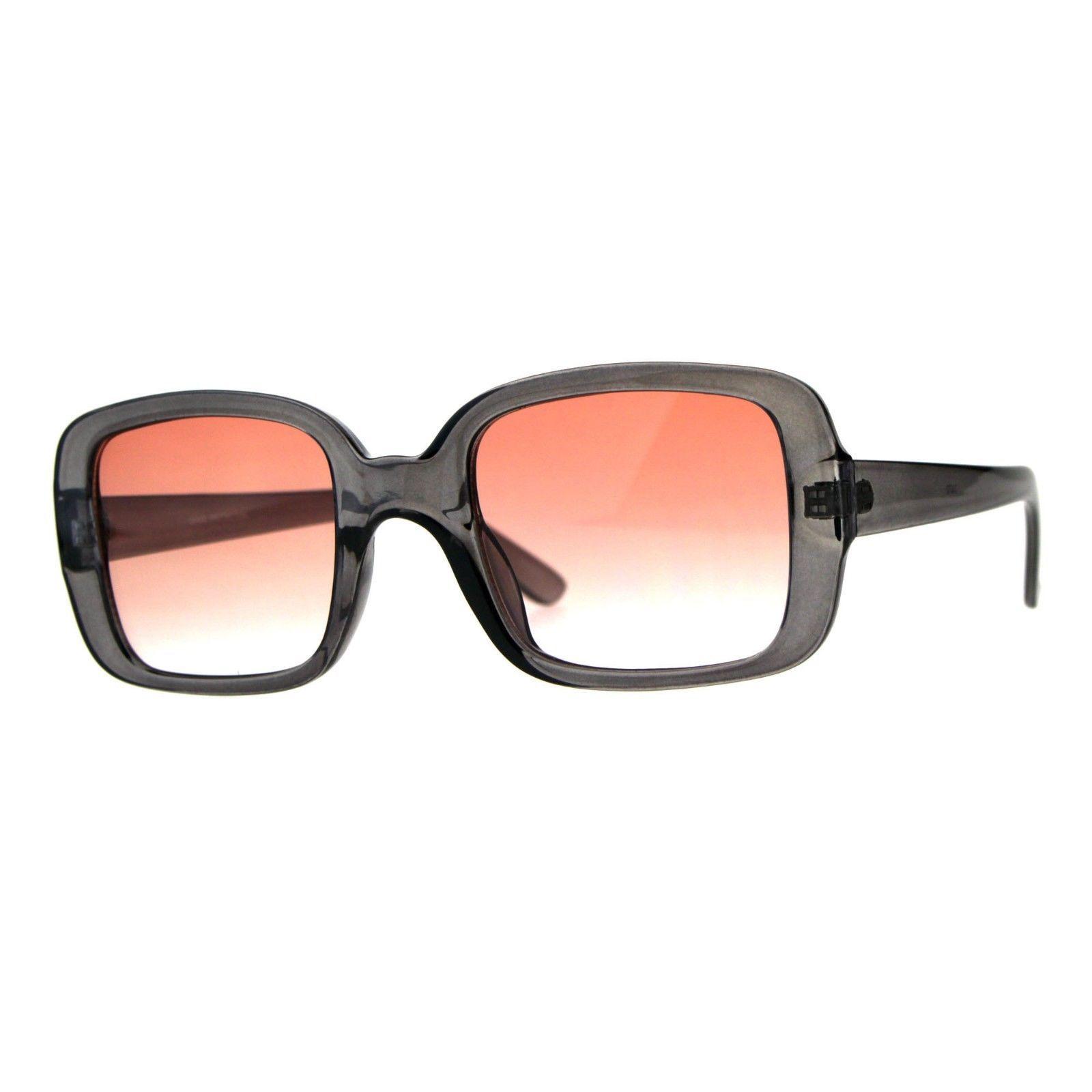 Vintage Retro Sunglasses Womens Square Rectangular Classic Fashion