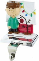Kurt S Adler Peanuts Charlie Brown by Doghouse Christmas Stocking Holder PN5205