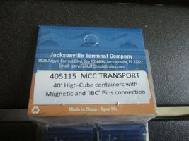 Jacksonville Terminal Company # 405115 MCC TRANSPORT 40' High-Cube Container (N) image 4