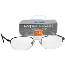 Foster Grant Hyperflexx Metal Flexible Nose Bridge Reading Glasses (+2.75) - $24.00
