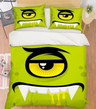 3D Eye Pattern 1 Bed Pillowcases Quilt Duvet Cover Set Single Queen King Size AU - $64.32+