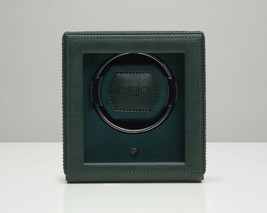 WOLF 1.8 Single Cub Watch Winder with Glass Cover Green 461141 Free US Shipping - $189.00