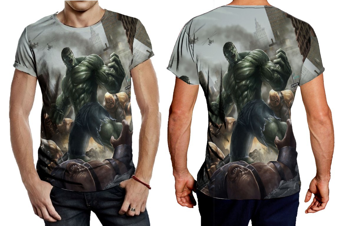 Primary image for Tee Men's hulk in war image