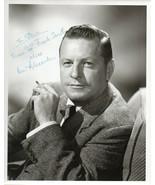 BEN ALEXANDER SIGNED 8X10 PHOTOGRAPH. STAR OF TV's DRAGNET. Autograph - $64.34