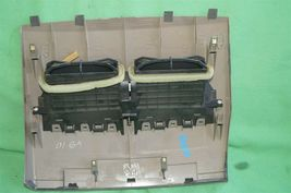 07-12 Nissan Versa Center Upper Dash Vent Bezel Trim Panel Tan/Brown image 6